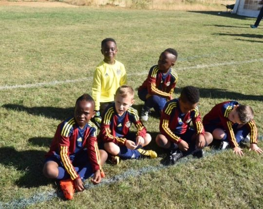 Junior U8 Team